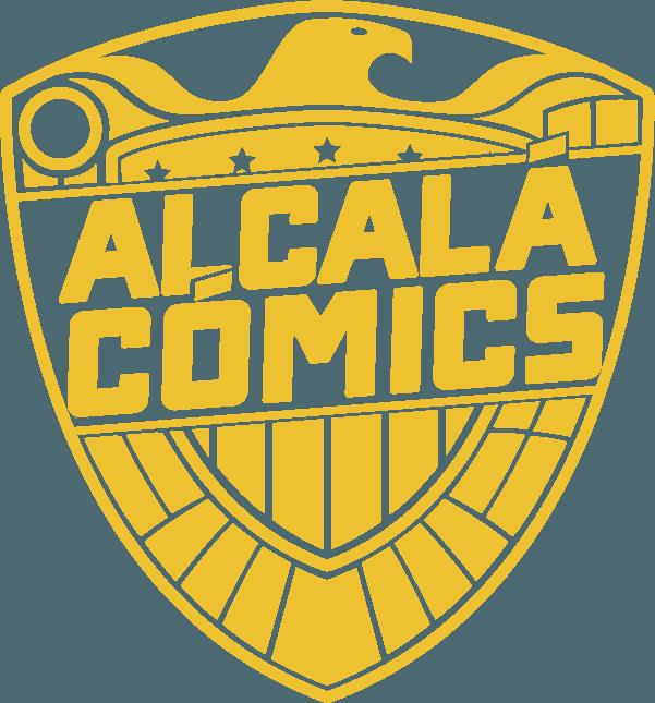 Logo Alcalá Cómics a color